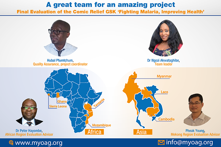 Inception phase in progress for the Final Evaluation of the Comic Relief GSK 'Fighting Malaria, Improving Health'