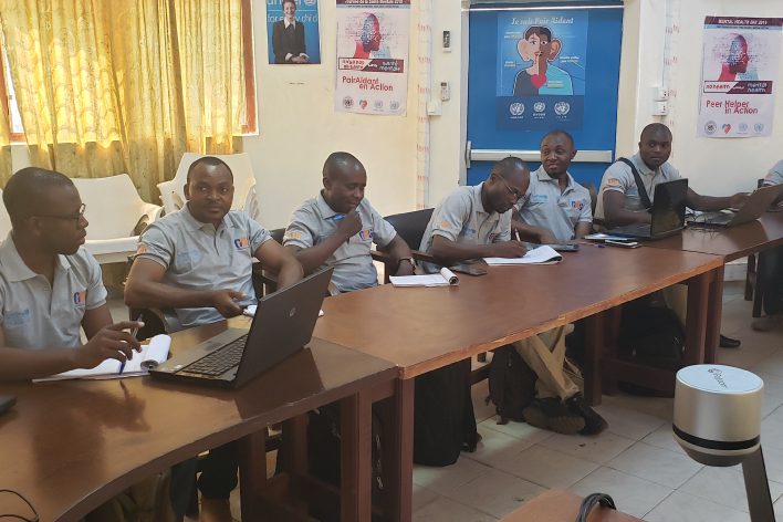 OAG carry out the first third party monitoring for UNICEF program in central Africa Republic (CAR)