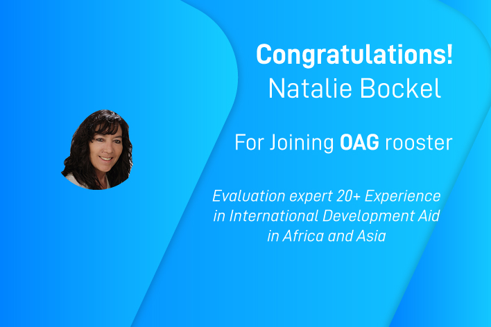 Let's welcome Natalie Bockel, recently admitted in OAG roster